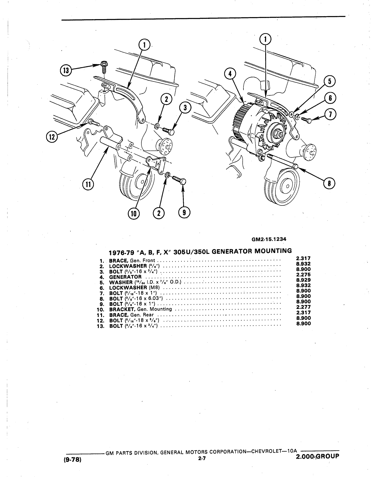 gm restoration parts catalog html